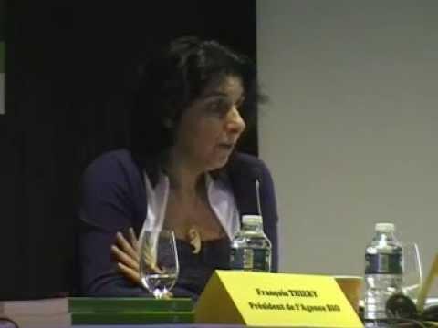 Nadia El Hage Scialabba (FAO) février 2013 séminaire international Agence bio