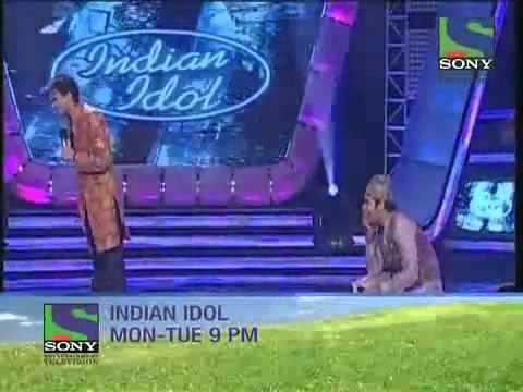 sony tv indian idol ke manch per anand raj anand and his wife nidhi kapoor ji