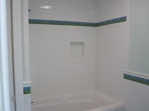Subway ceramicTile Bathroom
