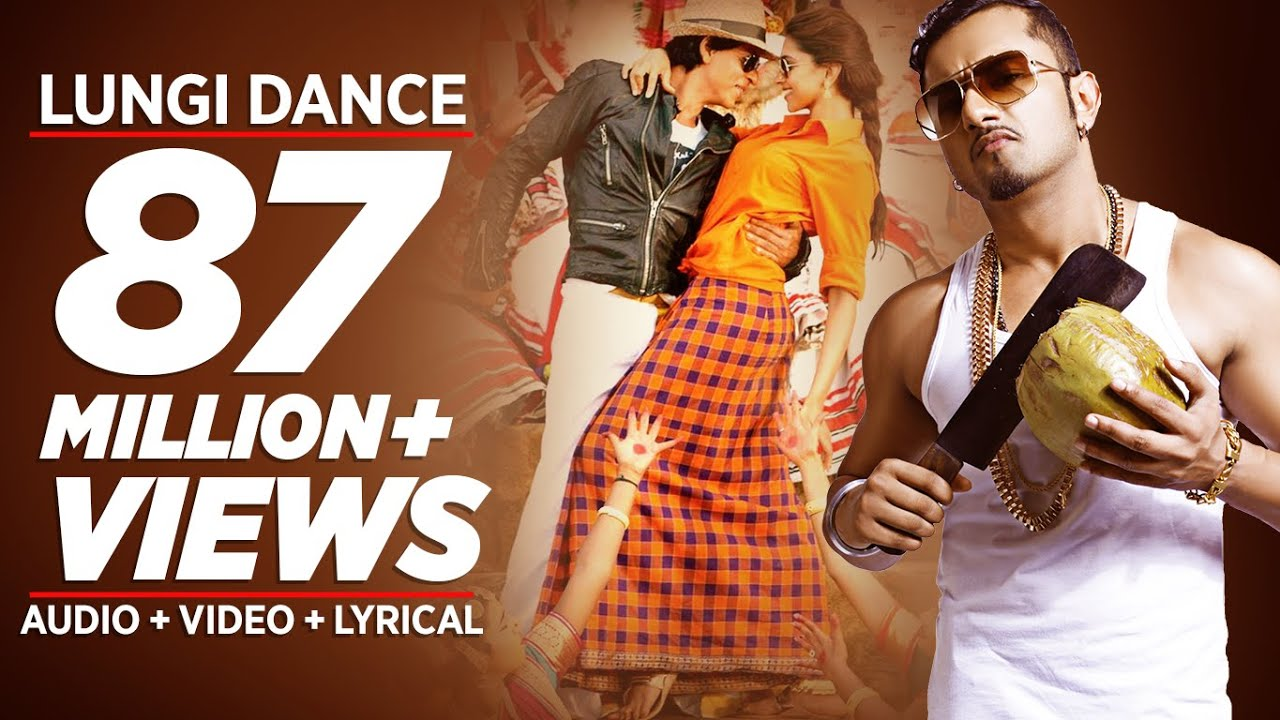 'Lungi Dance' The Thalaiva Tribute Official Full Song | Honey Singh, Shahrukh Khan, Deepika Padukone