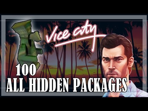 GTA Vice City - All 100 Hidden Packages, locations, guide