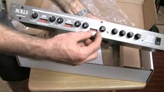 ROLLS RM64 4 Zone Mixer Unboxing & Overview