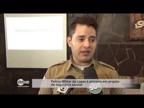 Polícia Militar de Lages é pioneira em projeto de segurança escolar