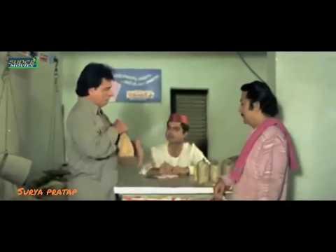 Kader Khan Best Comedy Scene (Talk With Items)