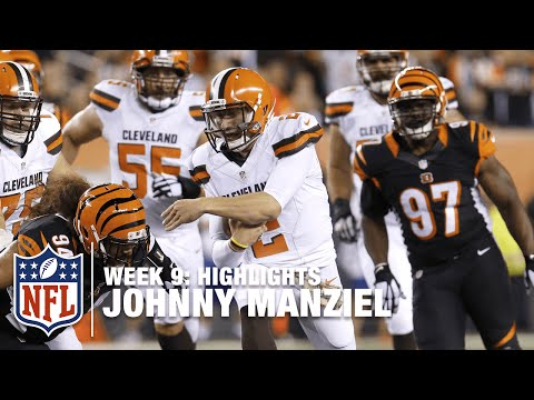Johnny Manziel Highlights (Week 9) | Browns vs. Bengals | NFL