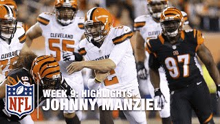 Johnny Manziel Highlights (Week 9)   Browns vs. Bengals   NFL