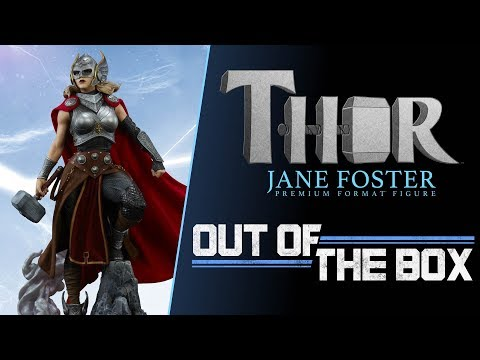 Out of the Box - Thor: Jane Foster Premium Format™ Figure - Exclusive