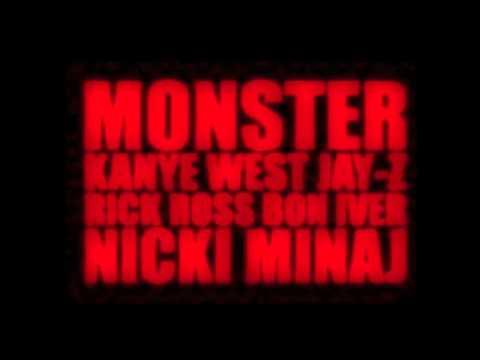 Monster Kanye West (feat Jay-Z and Nicki Minaj) EXPLICIT)