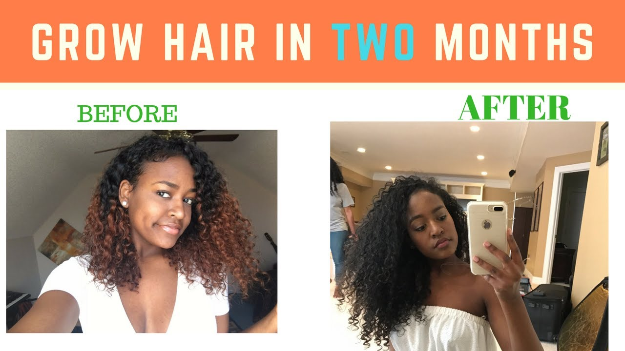 How To Grow Hair Faster And Longer My Curly Hair Routine Healthy Natural Hair Tips