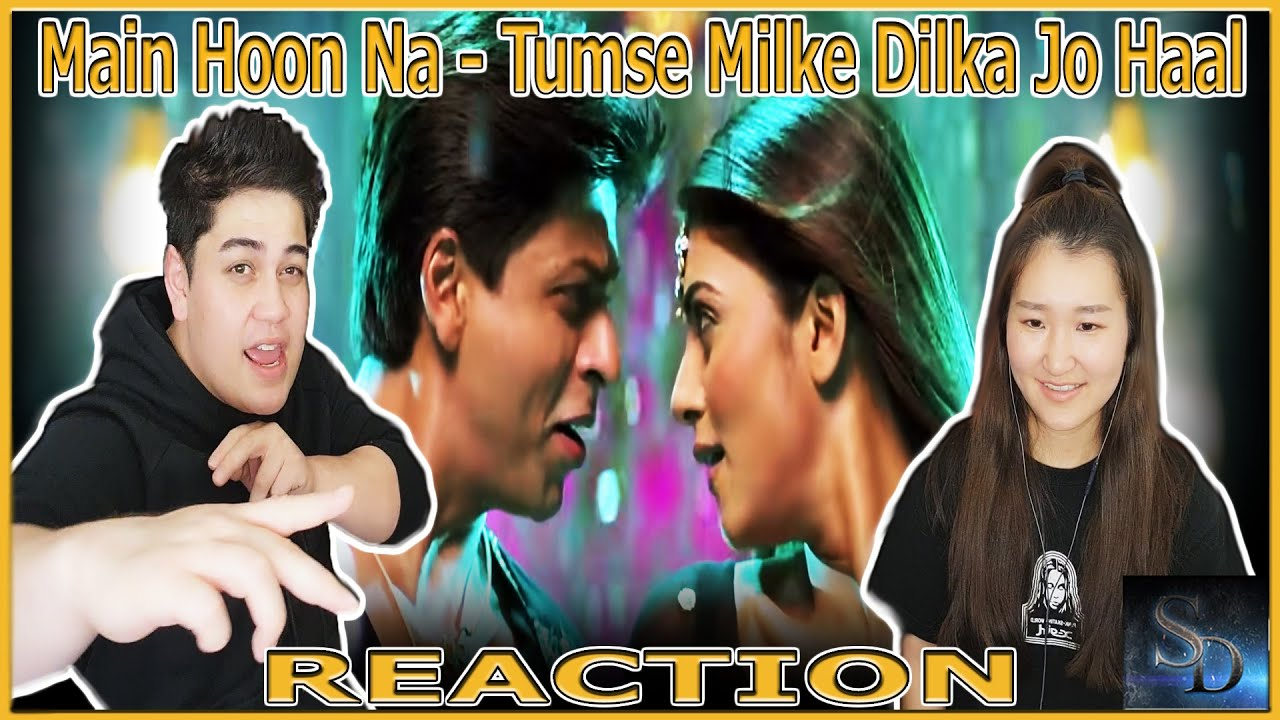 Download Main Hoon Na - Tumse Milke Dilka Jo Haal Reaction! | Main Hoon Na | Shahrukh Khan | Zayed Khan |Fun!