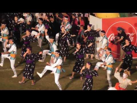 2018全島エイサーまつり 沖縄市園田青年会 Sonnda-seinennkai Zenntou Eisa Festival
