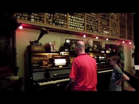 The pianola museum in Amsterdam
