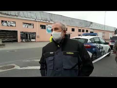 El dueño de Frain lamenta el impacto del fuego en sus instalaciones