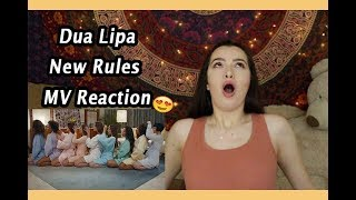 DUA LIPA IS A SNACK *New Rules MV Reaction*