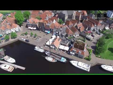 Dronefilm Prins Mauritshuis Blokzijl