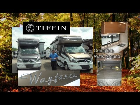 NEW 2018 Tiffin Wayfarer 24QW | Complete Walkaround
