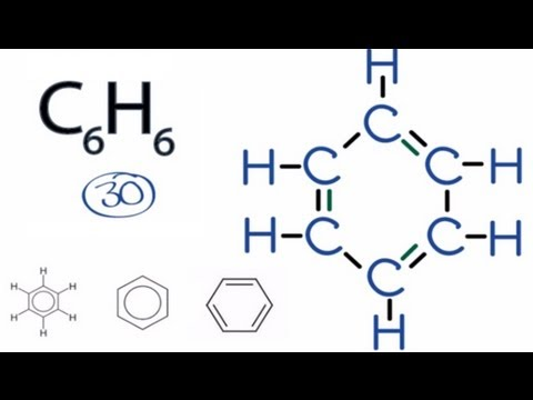 C6H6 Lewis Structure: How to Draw the Lewis Structure for C6