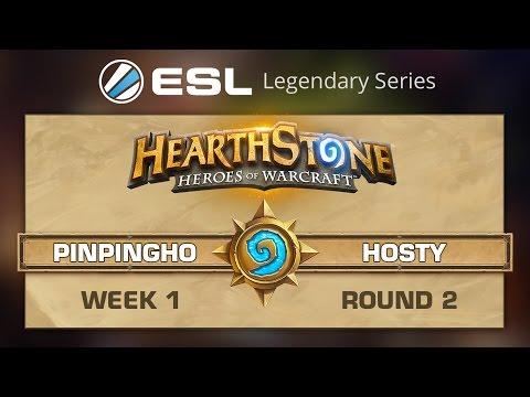 [W1, QF] Hosty vs Pinpingho G2 - ESL Legendary Series