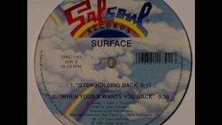 Surface _ Stop holding back
