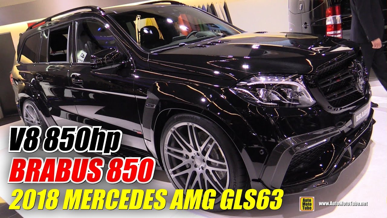 2018 Mercedes Amg Gls63 Brabus 850 Exterior And Interior