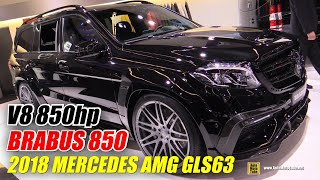 2018 Mercedes AMG GLS63 Brabus 850 - Exterior and Interior Walkaround - 2017 Frankfurt Auto Show