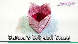 Origami - Tulip Box (Gift box)