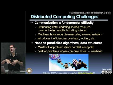 UC Berkeley CS10 Fall 2010 Lecture 19, Distributed Computing (1080p HD)