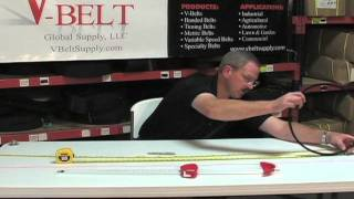 How to Measure V-Belts