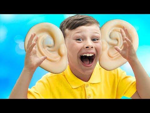 ALİ'NİN KULAKLARI BÜYÜDÜ Kid's Big ears Pretend Playtime Funny video for children
