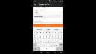 How to create new IRCTC account on Trainman? screenshot 3