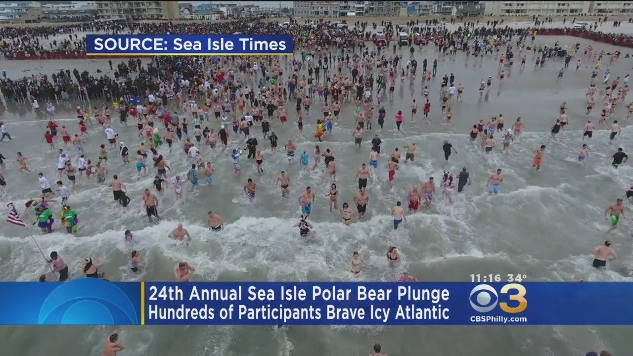 24th Annual Sea Isle Polar Bear Plunge