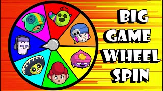 BIG GAME WHEEL SPIN! (CUSTOM MODE) // BrawlStars