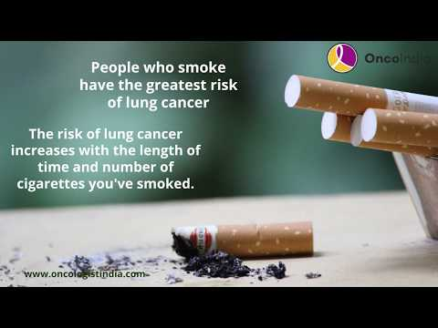 Facts About Smoking And Lung Cancer| Lung Cancer Treatment In Bangalore| Dr Shivakumar Uppala| India