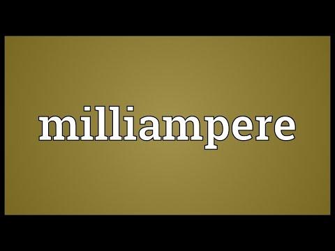 Header of milliampere