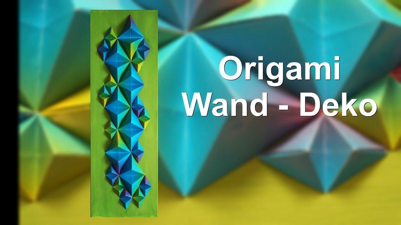 Origami Deko origami wand deko ruthvong