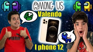RICO VS POBRE AMONG US NA VIDA REAL VALENDO IPHONE 12 PRO | PEDRO MAIA