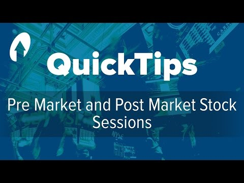 Premarket Quote Amusing Pre Market And Post Market Stock Sessions  Youtube