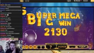 golden fish tank super mega big win in a new game