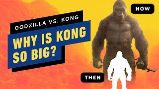 Godzilla vs. Kong: Why Is Kong So Big?