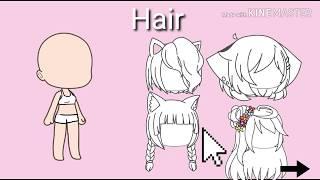 Character Creator Girl Version   Gacha Life