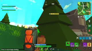 Roblox island Royale victory with Lulle156