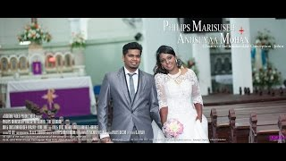 Christian Church Wedding  | Philips & Anusuyaa | ICI Church Johor By Digimax Video  Productions