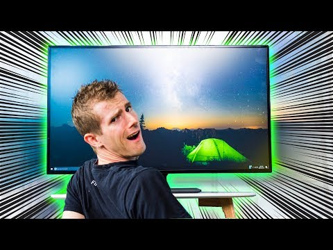 Should you Buy THIS Monitor.. or a TV?