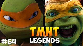 Черепашки-Ниндзя: Легенды. Прохождение #64 Michelangelo (TMNT Legends IOS Gameplay 2016)