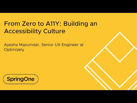 From Zero to A11Y: Building an Accessibility Culture