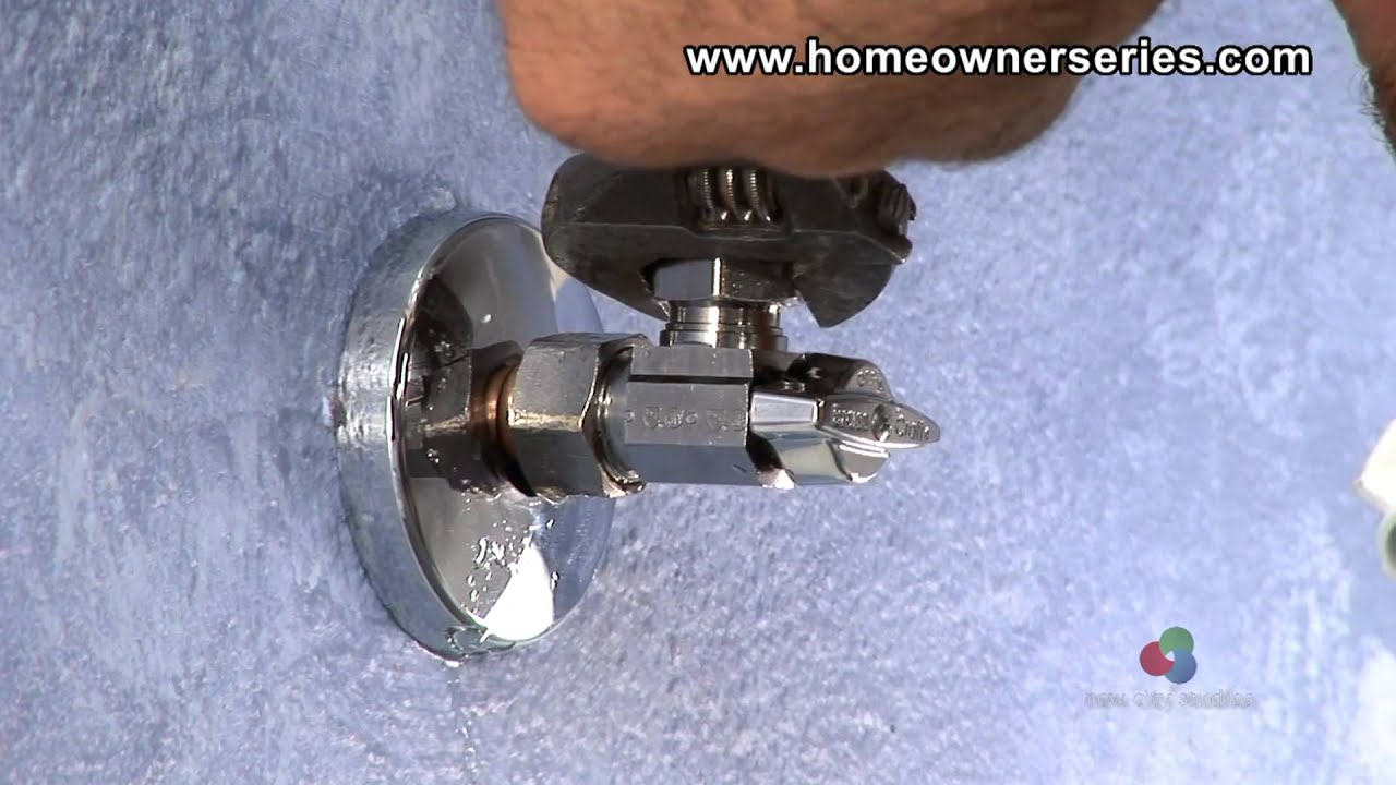 How To Fix A Toilet Water Supply Valve Replacement