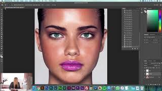 Adobe Photoshop CC Dersleri 08 Seçim Araçları Color Range Select and Mask Refine Edge