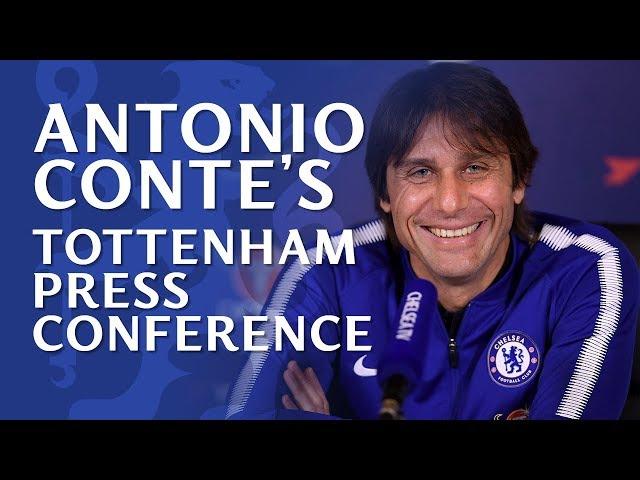 Chelsea v Spurs | Antonio Conte Press Conference