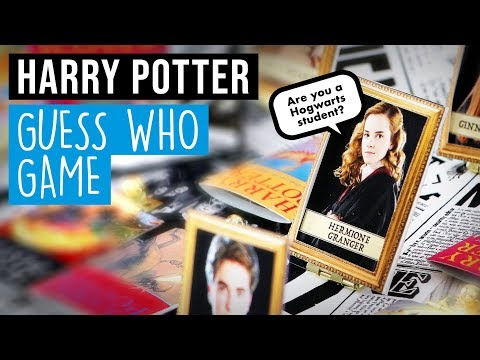 DIY Harry Potter Guess Who Game (from scratch!)