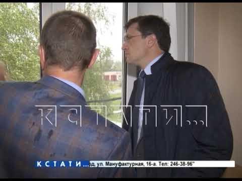 Губернатор Нижегородской области посетил  Шахунскую ЦРБ